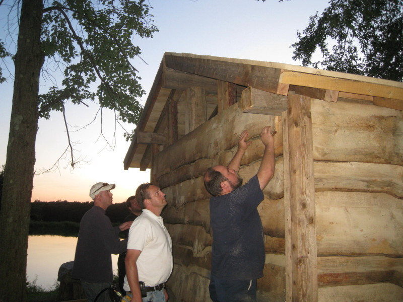 Lean-To Building Process